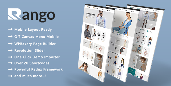 Test du thème WordPress Rango , voici notre avis