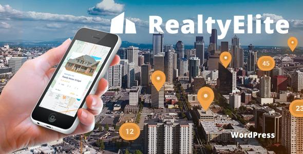 Test du thème WordPress RealtyElite , découvrez notre avis