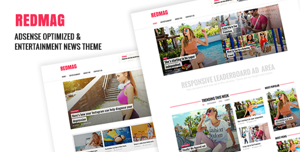 test RedMag - AdSense Optimized & Entertainment News Theme