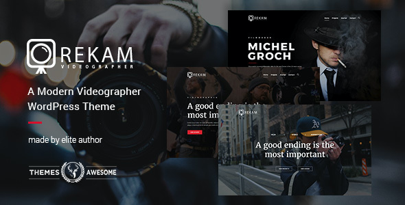 test Rekam | A Modern Videographer WordPress Theme