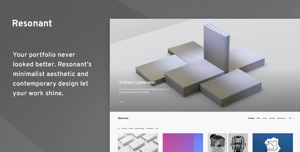 test Resonant - Portfolio WordPress Theme