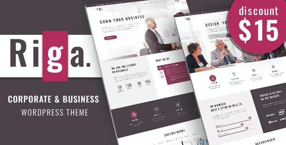 Test du thème WordPress Riga , découvrez notre avis