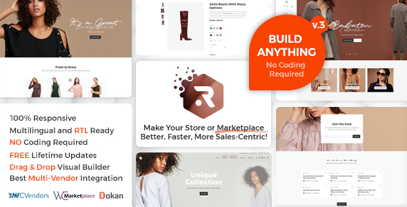 test Rigid - WooCommerce Theme for Enhanced Shops and Multi Vendor Marketplaces