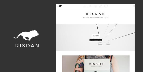 Test du thème WordPress Risdan , découvrez notre avis