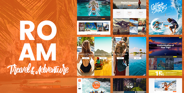 test Roam - An Adventurous Travel and Tourism Theme