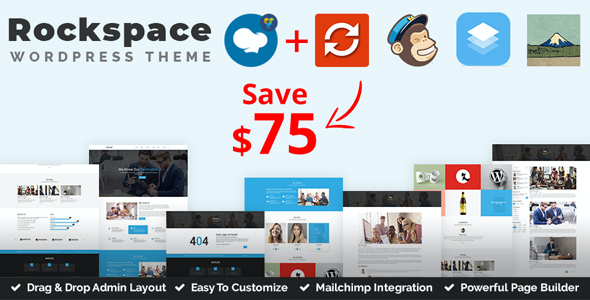 test Rockspace - Multipurpose WordPress Theme