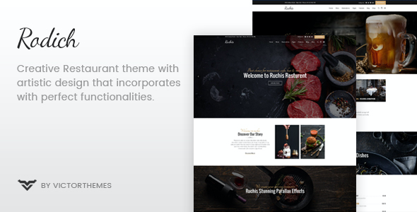 test Rodich - A Restaurant WordPress Theme