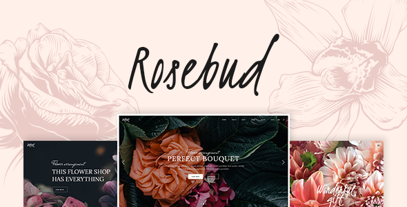 test Rosebud - A Flower Shop and Florist WordPress Theme