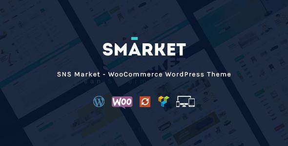 Test du thème WordPress SNS Market , voici notre avis
