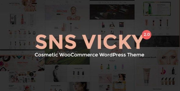 test SNS Vicky - Cosmetic WooCommerce WordPress Theme