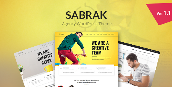 test Sabrak - Agency WordPress Theme