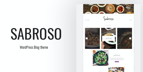 test Sabroso - A WordPress Theme for Food Bloggers