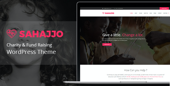 test Sahajjo - Charity / Fundraising Nonprofit WordPress Theme