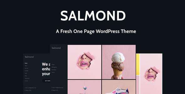 Test du thème WordPress Salmond , découvrez notre avis