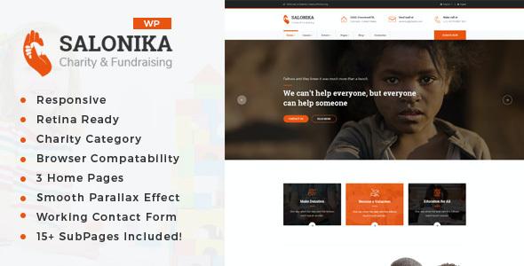 Test du thème WordPress Salonika , voici notre avis