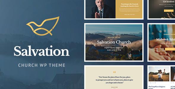 Test du thème WordPress Salvation , découvrez notre avis