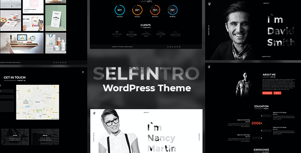 test Selfintro - A CV & Portfolio WordPress Theme