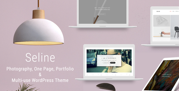 test Seline - Creative Photography & Portfolio WordPress Theme