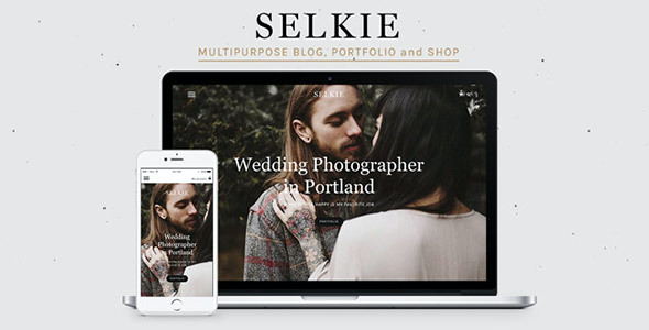 test Selkie - Multipurpose Portfolio Blog and Shop