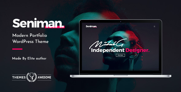 test Seniman | Modern Portfolio WordPress Theme
