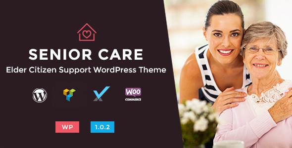 Test du thème WordPress Senior Care , voici notre avis
