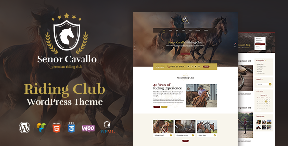 test Senor Cavallo - Horse Riding Club, Stables & Equestrian Sport WordPress Theme