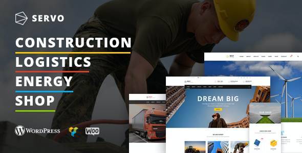 test Servo - Construction / Logistics / Energy Engineering / Shop theme