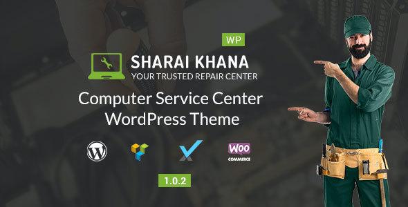Test du thème WordPress Sharai Khana , voici notre avis