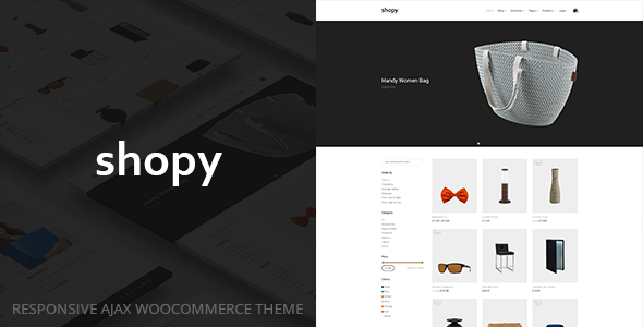 test Shopy - Responsive AJAX WooCommerce Theme