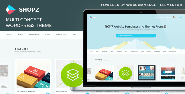 test Shopz - eCommerce WordPress Theme