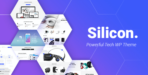 test Silicon - Startup and Technology WordPress Theme