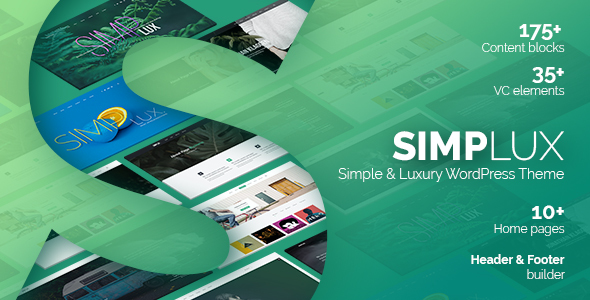 test Simplux - Creative Portfolio and Blog WordPress Theme