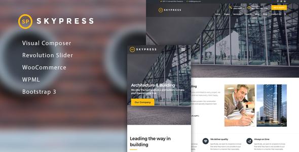 Test du thème WordPress SkyPress , découvrez notre avis