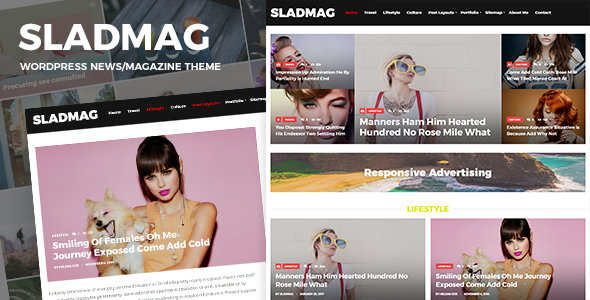 test Sladmag - Responsive News/Magazine WordPress Theme