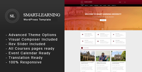 test Smart Learning - Premium Education Corporate WordPress Theme