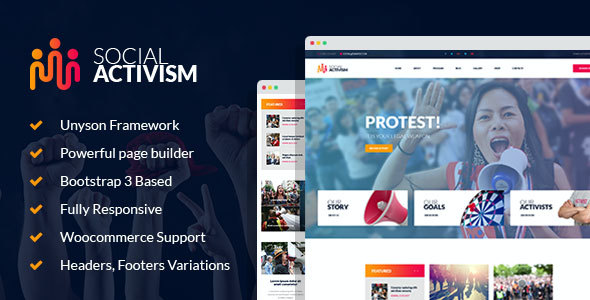 test Social Activism - Non-Government Organization WordPress Theme