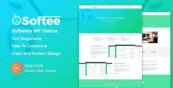 test Softee - Multipurpose Software / SaaS Product Theme