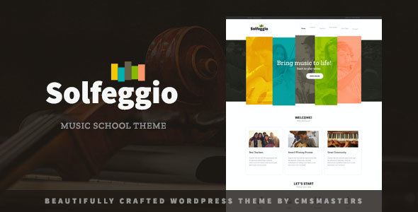 Test du thème WordPress Solfeggio , voici notre avis