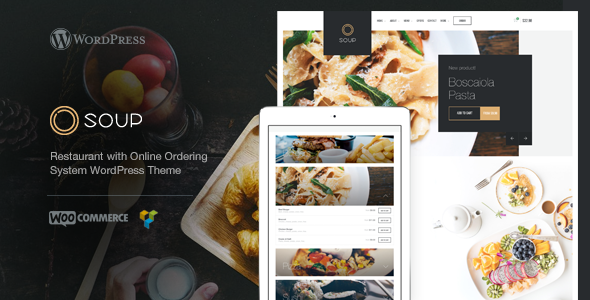 test Soup - Restaurant with Online Ordering System WP Theme
