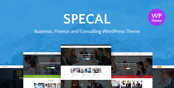 test Specal - Financial, Consulting WordPress Theme