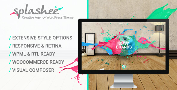 Test du thème WordPress Splashee , découvrez notre avis