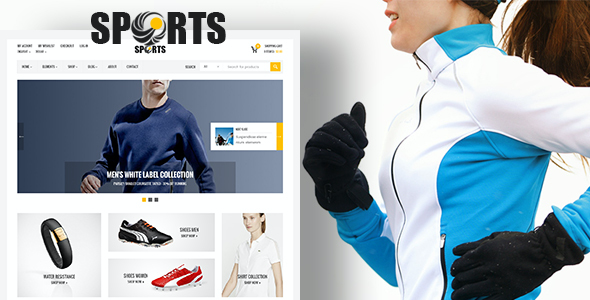 test Sport Shop - Sporting Club RTL WooCommerce WordPress Theme