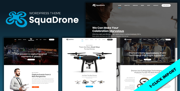test SquaDrone - Drone & UAV Business WordPress Theme
