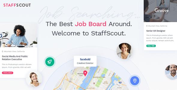 Test du thème WordPress StaffScout , découvrez notre avis