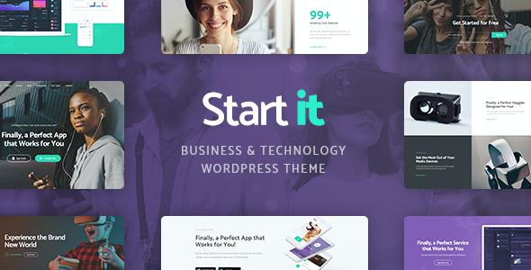 Test du thème WordPress Start It , voici notre avis