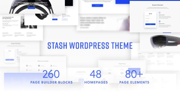 Test du thème WordPress Stash , voici notre avis