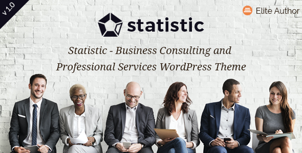 test Statistic - Business Consulting and Professional Services WordPress Theme