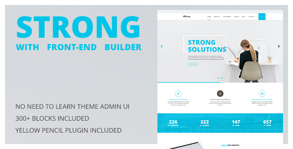 test Strong - Accountant WordPress Theme