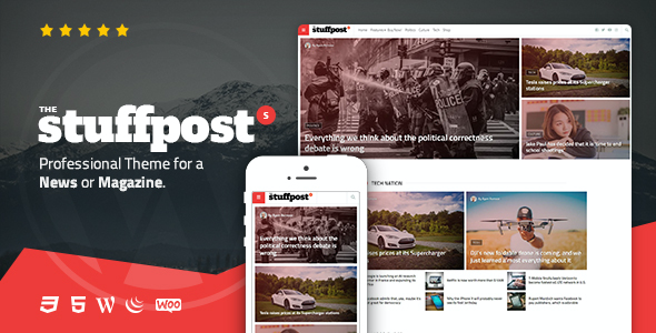 test StuffPost - Professional News & Magazine WordPress Theme