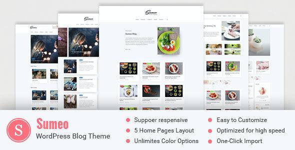 Test du thème WordPress Sumeo , découvrez notre avis